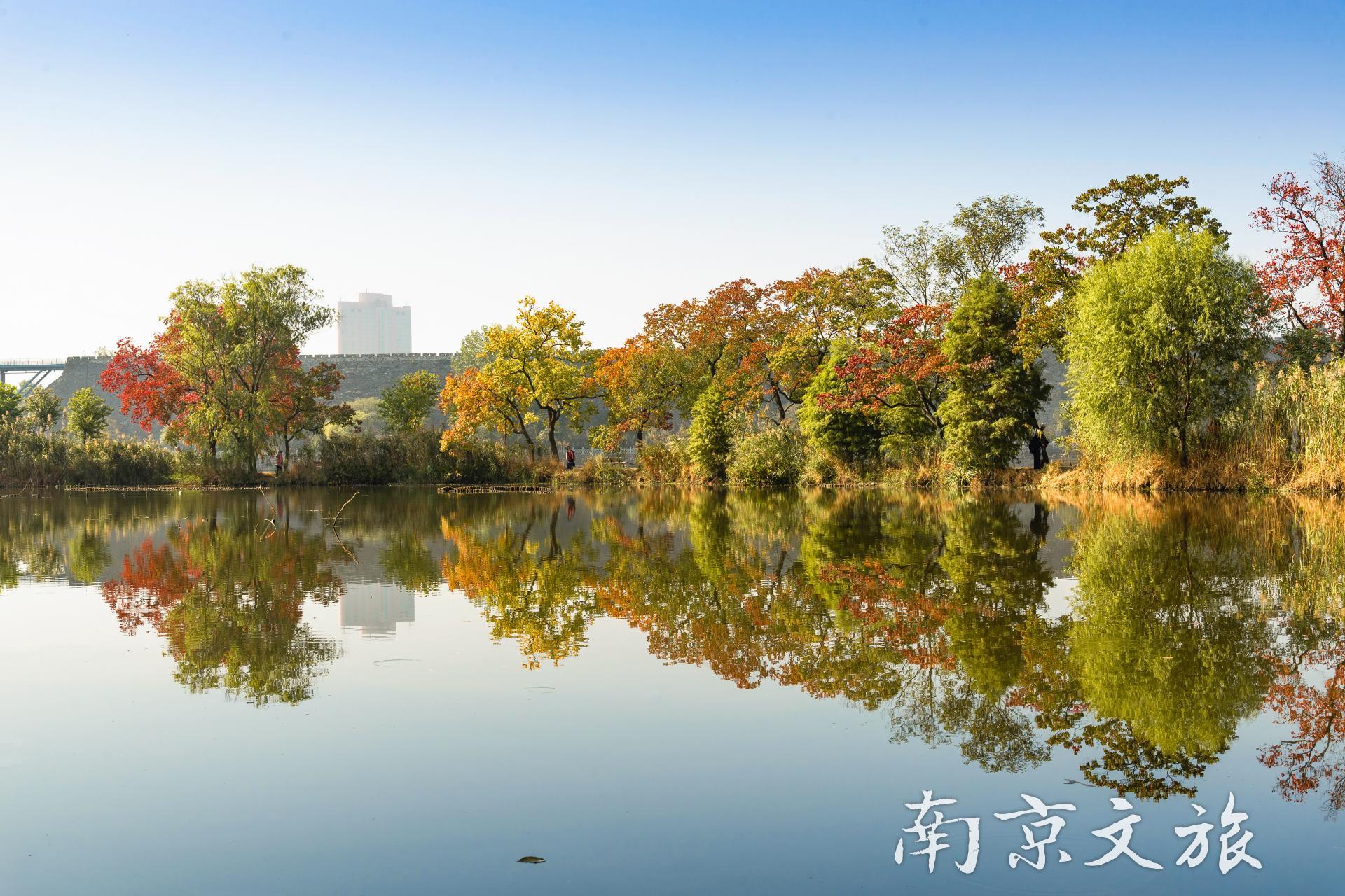 Qianhu Lake in Nanjing Botanical Garden Mem. Sun Yat-Sen