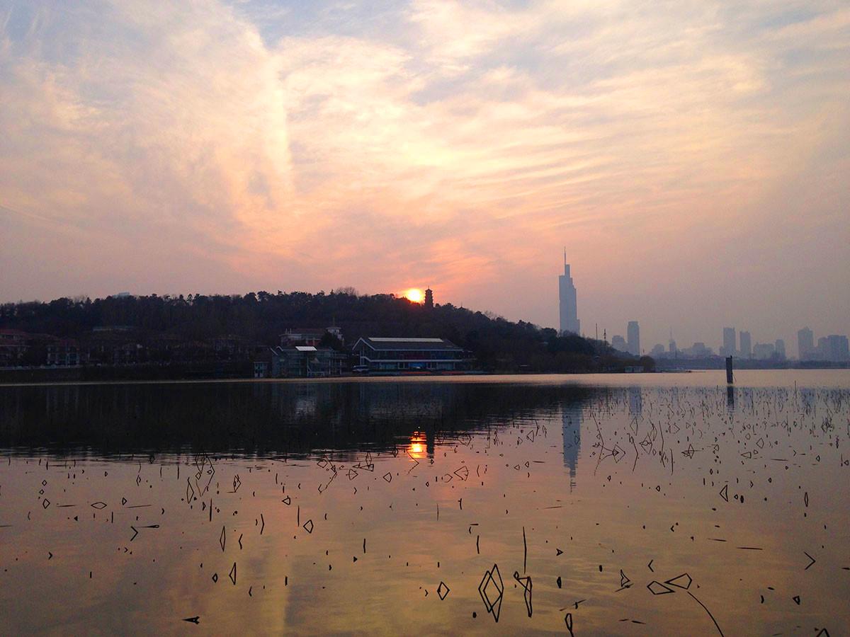 Xuanzang Temple in Jiuhua Mountain Park