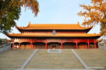 Attractions in Nanjing China Niushou Museum