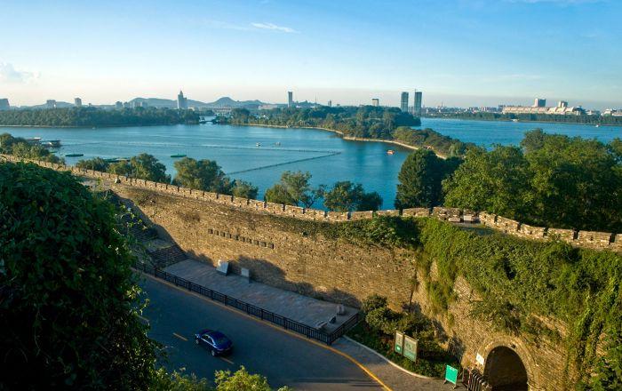 Ming Taicheng Wall Nanjing Trip Holidays