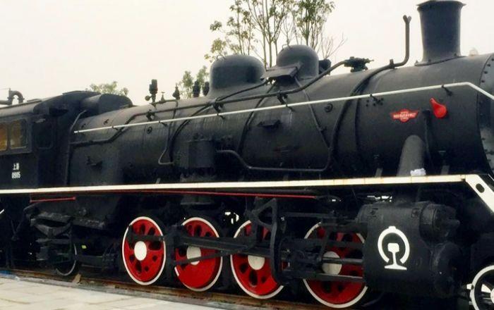Train Theme Park Settled in Nanjing 2