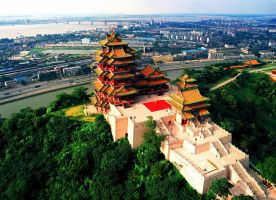 Yuejiang Pavilion Nanjing Trip Attraction