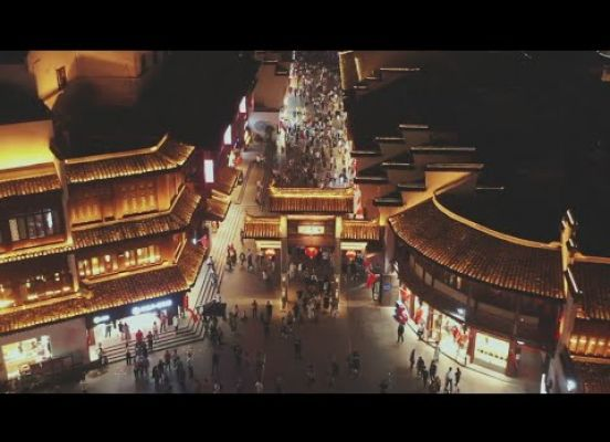Dazzling Nightlife in Nanjing, China 2020